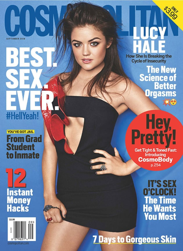 Lucy Hale Cosmopolitan Cover