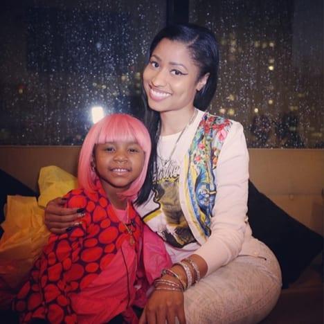 Nicki Minaj, Cancer Patient
