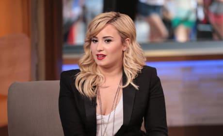 Demi Lovato on Good Morning America
