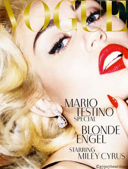 Miley Makes Like Marilyn