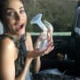 Nikki Reed Poses with Breast Pump