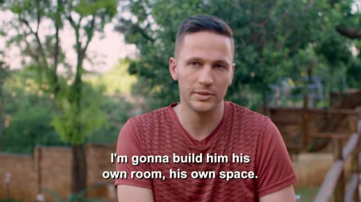 Ronald Smith - I'm gonna build him his own room, his own space
