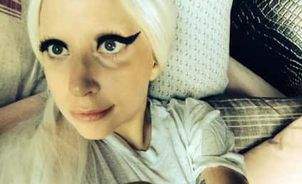 Lady Gaga Bleaches Eyebrows, Loves Attention