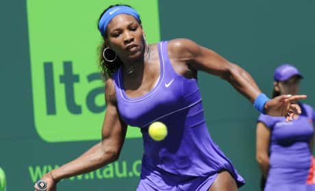 Serena Williams rapping is...