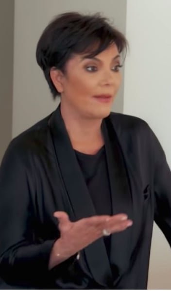 kris on Keeping Up with the Kardashians