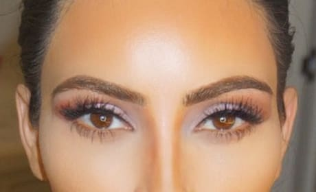 Kim Kardashian Nose Job Photo