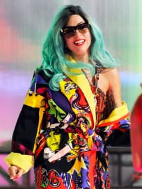Colorful Lady Gaga