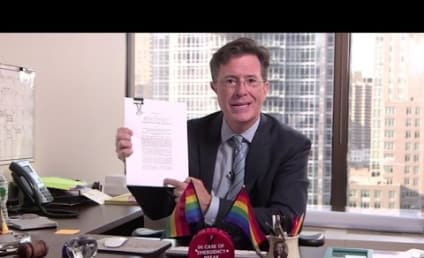 Stephen Colbert Finds a Problem with Gay Marriage Ruling