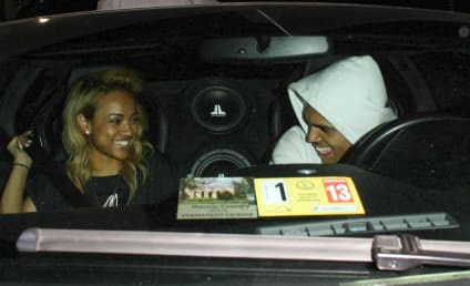 Chris Brown and Karrueche Tran: Spotted at the Club!