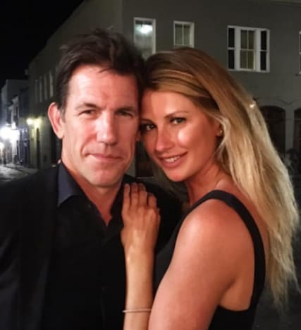 Ashley Jacobs with Thomas Ravenel