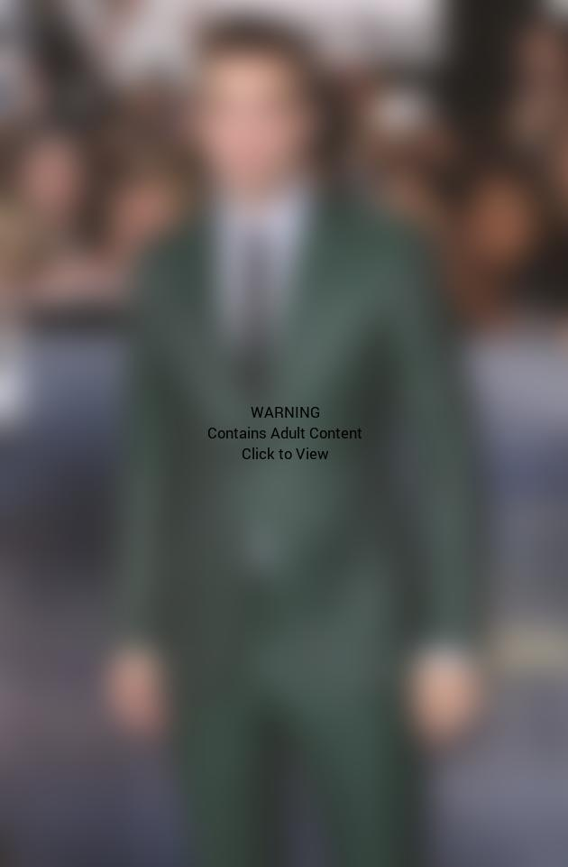 Robert Pattinson in Green