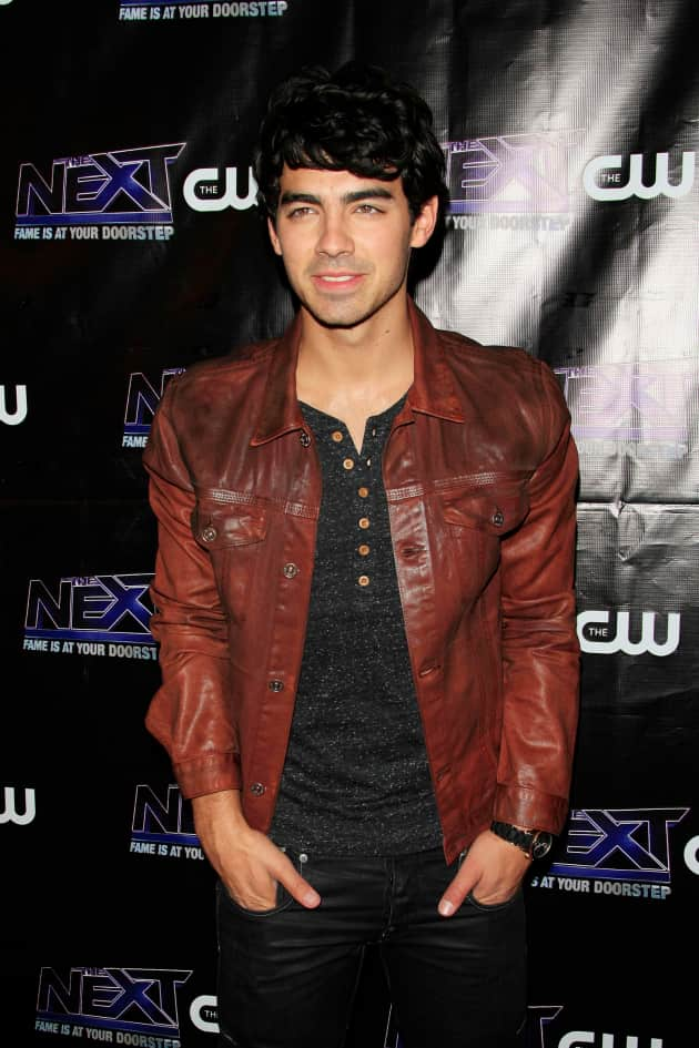 Joe Jonas on the Red Carpet