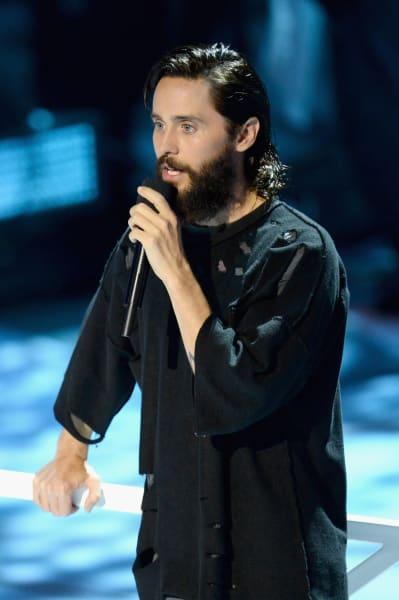 Jared Leto at the VMAs
