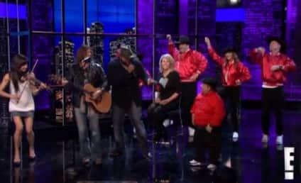 Billy Ray Cyrus Seranades Chelsea Handler: Watch the Valentine's Day Treat Here!