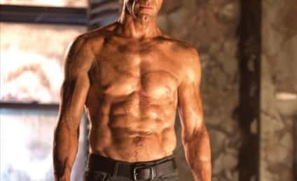 I, Frankenstein Photo: Aaron Eckhart Has Monster Abs