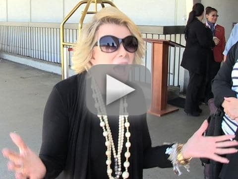 Joan Rivers on Israel-Palestine Conflict