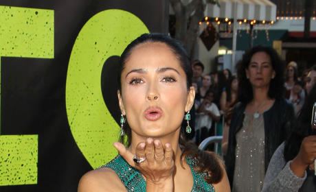 Salma Hayek at Savages Premiere