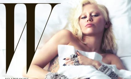 Miley Cyrus Nude in W Magazine: See the Leaked, Eyebrow-Less Cover!