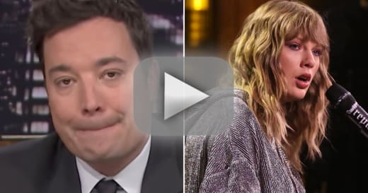 Taylor swift debuts new song on the tonight show brings jimmy fa