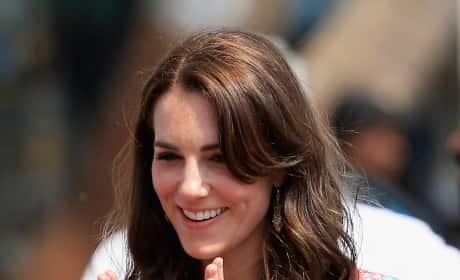Kate Middleton wears Anita Dongre in Mumbai