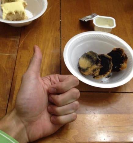 Derick Dillard Fried Oreos Photo