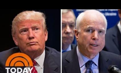 """Donald Trump Blasts Matt Lauer, Considers John McCain a """"Hero"""""""