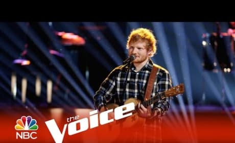 Ed Sheeran - Photograph (The Voice Finale)
