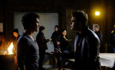 Stefan vs. Damon