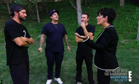 Brody Jenner and Rob Kardashian on Keeping Up With The Kardashians