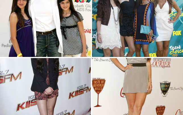 Kylie bruce and kendall jenner a time for heroes benefit 2008