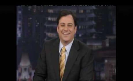 Jimmy Kimmel on Jay Leno