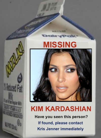 Kim Kardashian: Missing Person