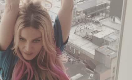 Madonna ROCKS Pink Locks: Fab or Fail?