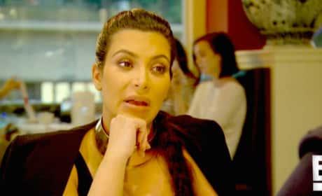 Kim Kardashian Says Some Weird Stuff About Saint West