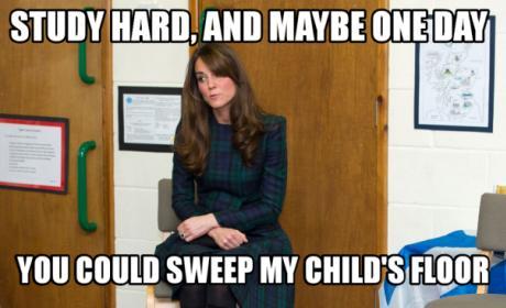 Kate Middleton Humor Caption