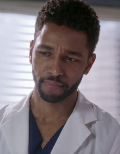 Winston sur Grey's Anatomy Saison 18