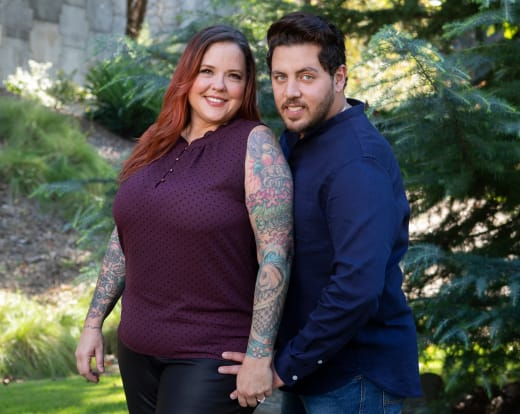 Rebecca Parrott and Zied Hakimi for 90 Day Fiance Season 8