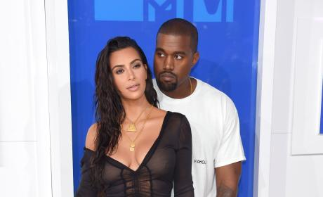 Kanye Feels Up Kim