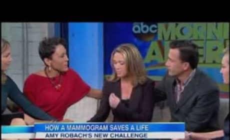 Amy Robach Talks Breast Cancer Diagnosis