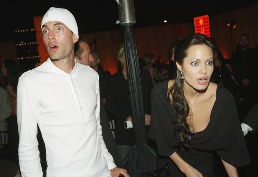 Angelina Jolie: Brother James Haven Called WHAT By Her ... Angelina Jolie Brother Kiss Oscars