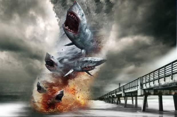 A sharknado