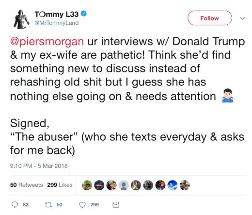 tommy tweet