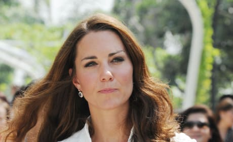 Kate Middleton Visits Gardens by The Bay in Singapore