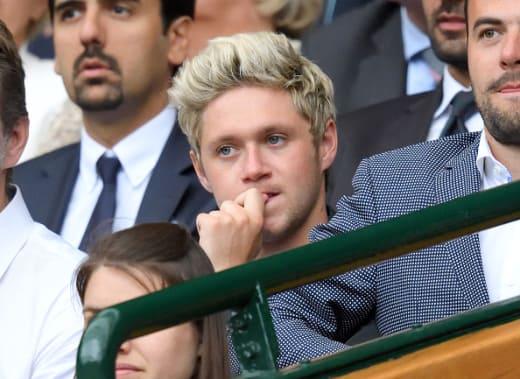 Niall Horan At Wimbledon