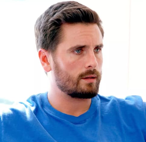 Scott Disick in Blue