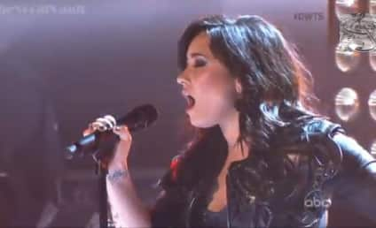 "Demi Lovato Performs ""Heart Attack"" on Dancing with the Stars Results Show"