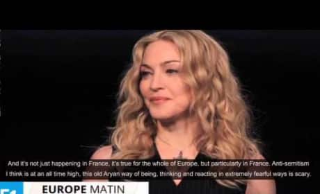 Madonna Slams France, Anti-Semitism in Country