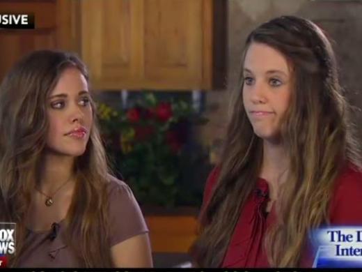 Jill and Jessa Duggar: Megyn Kelly Interview Photo