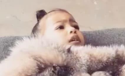 Kim Kardashian Shares Precious Video of North West