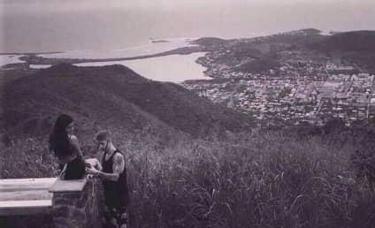 Justin Bieber and Selena Gomez: Cozy in the Caribbean!